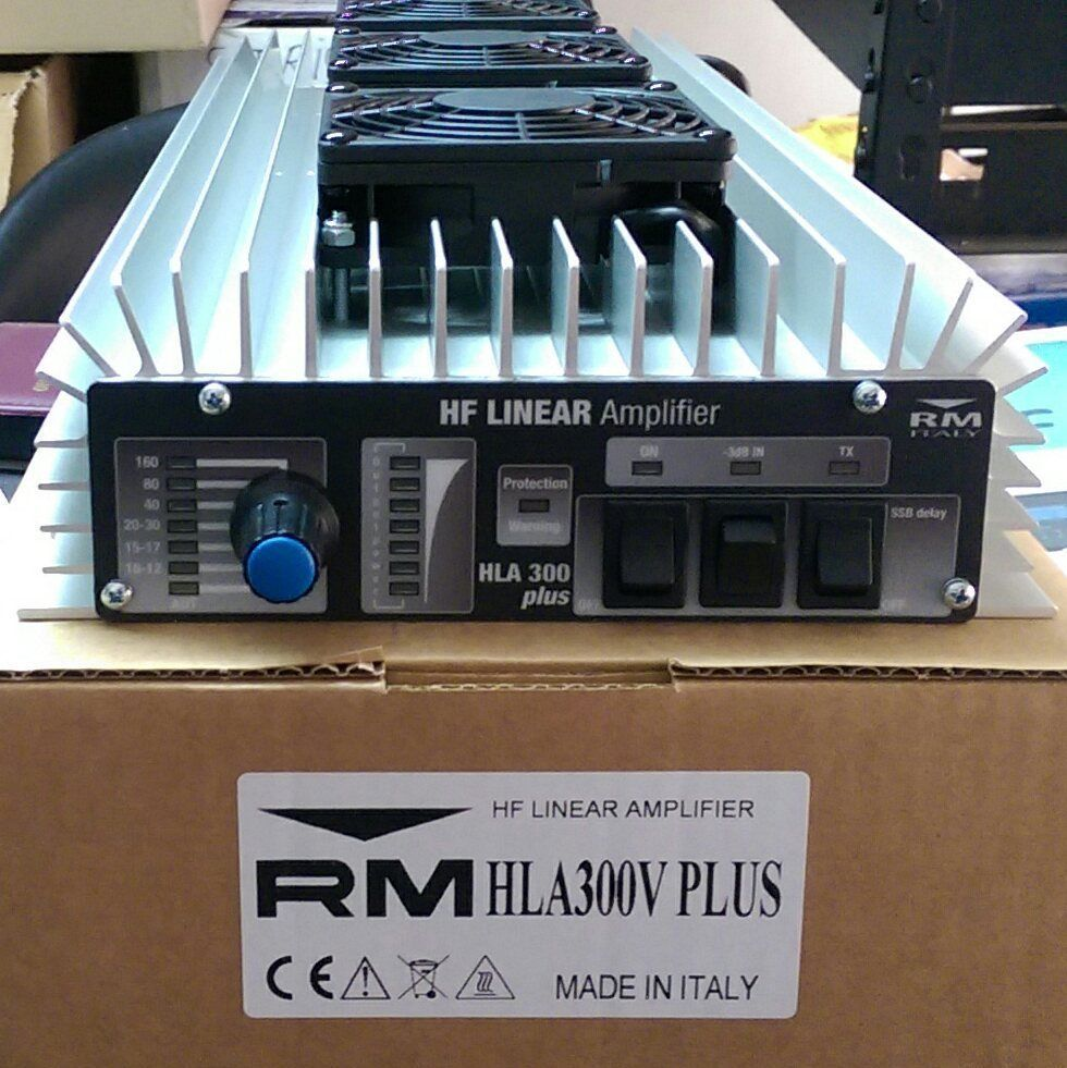 RM Italy HLA 300V Plus Professional Linear Amplifier With Fans - Click Image to Close