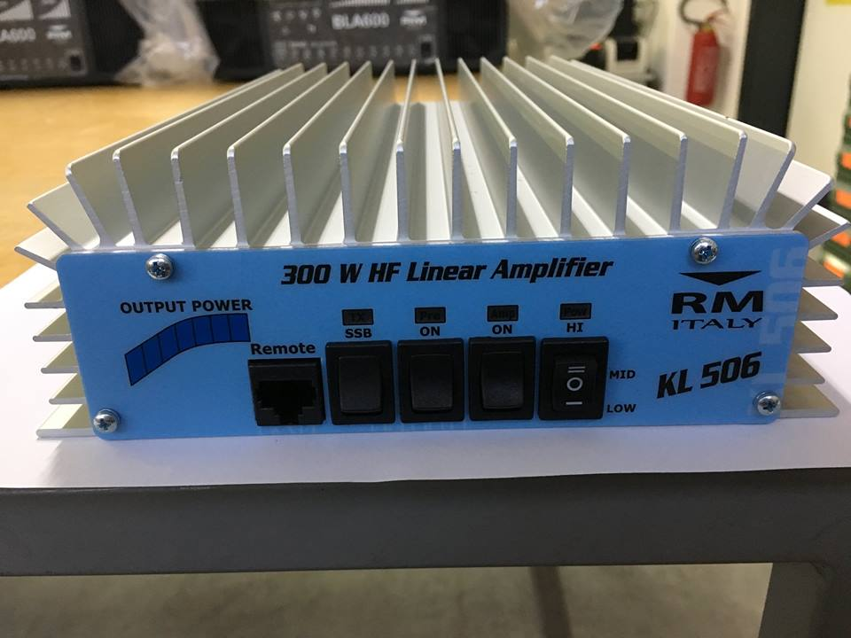 RM Italy KL 506 Mobile HF Linear Amplifier