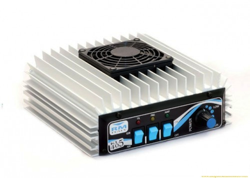 RM Italy KL 405v HF Linear Amplifier with Fan