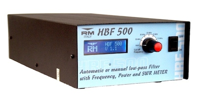 RM Italy HBF500 Low-Pass Filter/Freq. Counter/Power-SWR Meter