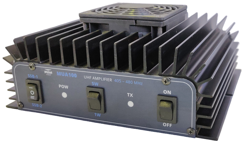 RM Italy MUA 100 UHF 405 -480 Mhz Linear Amplifier