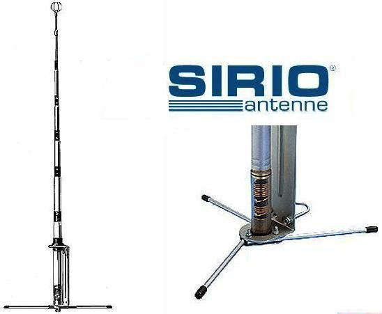 Sirio GPE 27 5/8 10m & CB Base Antenna - Click Image to Close
