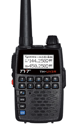 TYT TH-UV3R Dual Band Micro Amateur Ham Radio V/UHF 2/440mhz - Click Image to Close
