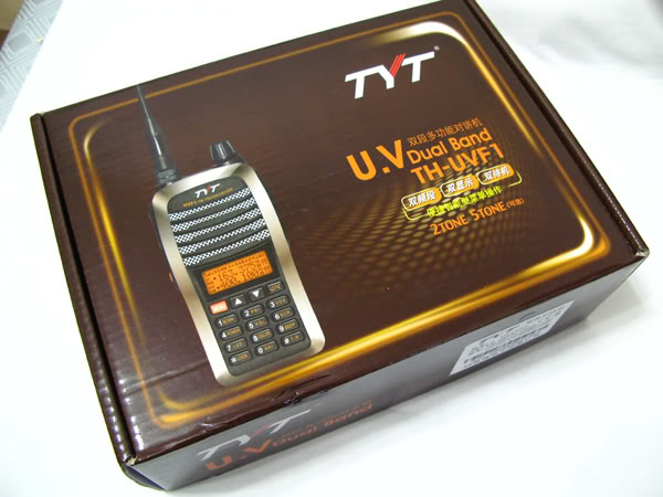 NEW TYT TH-UVF1 DUAL BAND HANDHELD Two Way RADIO VHF UHF