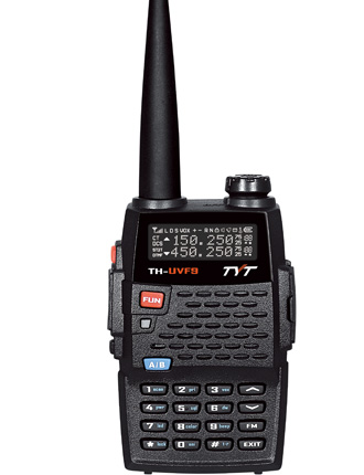TYT TH-UVF9 Dual Band Handheld 136-174/220-260 Mhz - Click Image to Close