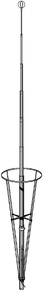Sirio New Vector 4000 Tunable CB Antenna - Click Image to Close