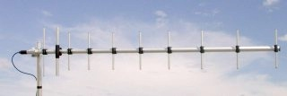 Sirio WY400-10N UHF 400-470 MHz Base Station 10 Element Yagi Ant